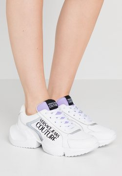 Versace Jeans Couture - Sneakers laag - bianco ottico