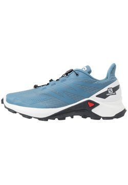 Salomon - SUPERCROSS  BLAST - Zapatillas de trail running - copen blue/white/ebony