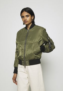 Diesel - W-SWING JACKET - Giubbotto Bomber - military green