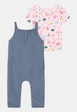 Carter's - CHAMBRAY SET - T-shirt print - blue
