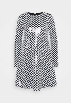 Emporio Armani - DRESS - Vestito elegante - nero/bianco