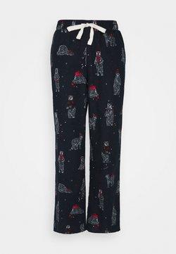 Marks & Spencer London - DEAL BEAR PANT - Pyjamabroek - navy mix