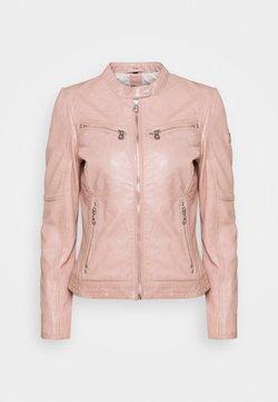 Gipsy - CHARLEE LAORV - Leren jas - light rose