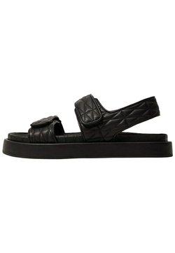 Mango - Sandals - noir