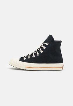Converse - CHUCK 70 CORK UNISEX  - Sneakersy wysokie - black/egret/red bark