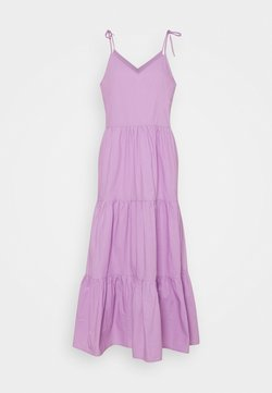 Pieces - PCTESS STRAP ANKLE DRESS  - Maxikleid - sheer lilac