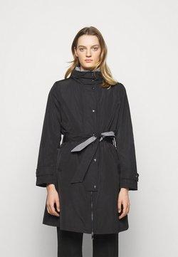 Lauren Ralph Lauren - QUILTED VEST COAT 2-IN-1 - Prochowiec - black