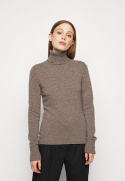 FTC Cashmere - ROLLNECK - Sweter - truffle