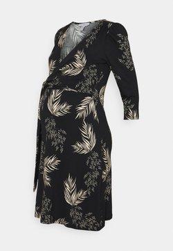 Envie de Fraise - RESA - Robe en jersey - black/off white
