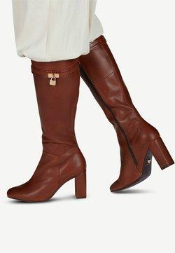Tamaris Heart & Sole - High Heel Stiefel - brandy