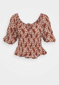 Faithfull the brand - LIBERIA - T-Shirt print - burgundy