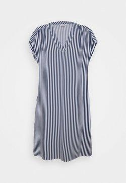 GAP - DRESS - Freizeitkleid - blue/white