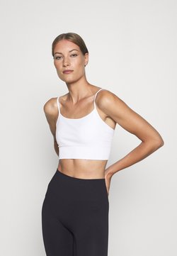 ARKET - YOGA BRA - Sport BH - white light