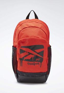 Reebok - TRAINING BACKPACK - Reppu - red