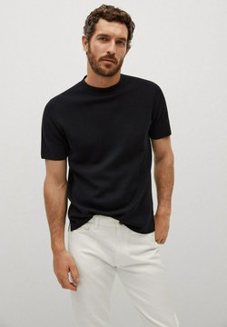 Mango - Camiseta básica - schwarz