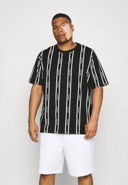 Calvin Klein - VERTICAL LOGO STRIPE - T-Shirt print - black