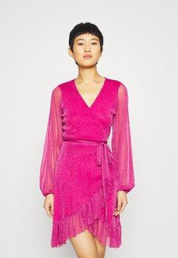 Résumé - DRESS - Strikket kjole - berry