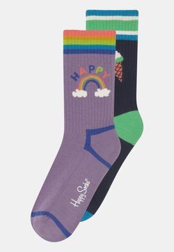 Happy Socks - HAPPY RAINBOW & ICE CREAM 2 PACK UNISEX - Calcetines - multi-coloured