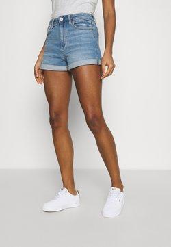 American Eagle - MOM - Shorts di jeans - medium bright indigo
