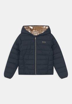 BOSS Kidswear - REVERSIBLE PUFFER - Talvitakki - navy