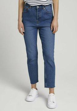 TOM TAILOR DENIM - Jeans Slim Fit - clean mid stone blue denim