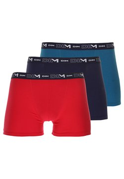 DIM - STRETCH 3 PACK - Shorty - rouge baie/bleu antique/bleu crépuscule
