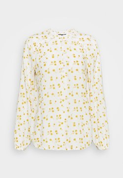 Marks & Spencer London - FRILL BLOUSE - Bluse - yellow