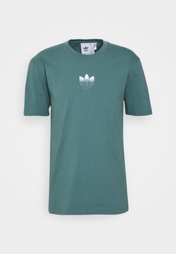 adidas Originals - TEE UNISEX - T-Shirt print - hazy emerald