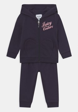 Juicy Couture - BABY HEART POCKET SET - Verryttelypuku - night sky