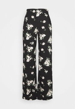 Vero Moda - VMSIMPLY EASY WIDE PANT  - Bukser - black
