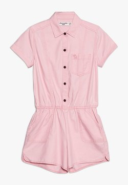 Abercrombie & Fitch - AIR CHASE MILITARY ROMPER  - Combinaison - pink