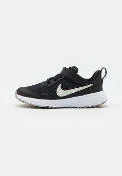 Nike Performance - REVOLUTION 5 UNISEX - Hardloopschoenen neutraal - black/white/bright crimson