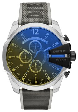 Diesel - MEGA CHIEF - Montre à affichage digital - black,gray,yellow