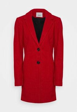 ONLY Tall - ONLCARMEN COAT  - Mantel - mars red