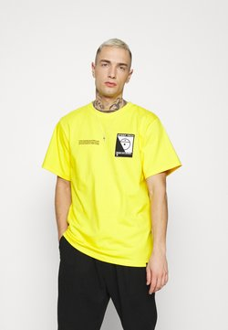 The North Face - STEEP TECH LOGO TEE UNISEX  - T-shirt print - lightning yellow