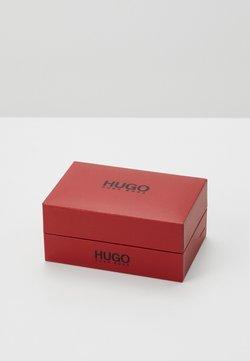 HUGO - E-LIBERTY  - Spinka do mankietów - dark grey