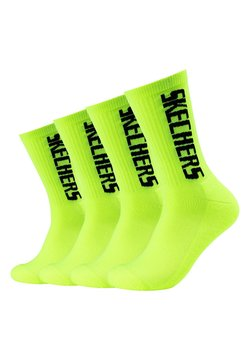Skechers - 4 PACK - Sportsocken - lemon glacier