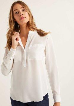 Boden - KRAGENLOSE - Bluse - natural white