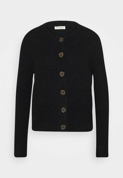 Selected Femme - SLFSIA CARDIGAN - Cardigan - black