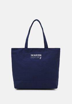 TOM TAILOR DENIM - LIA - Shoppingväska - dark blue
