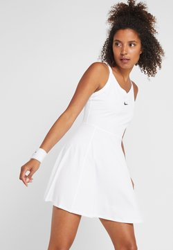 Nike Performance - DRY DRESS - Sukienka sportowa - white/black