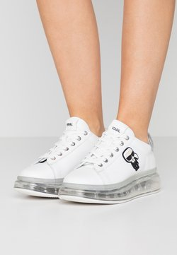 KARL LAGERFELD - KAPRI KUSHION IKONIC LACE - Sneaker low - white/silver