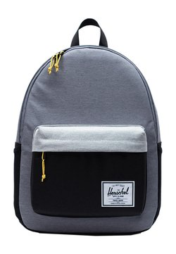 Herschel - Tagesrucksack - mid grey crosshatch/light grey crosshatch/black