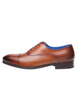 SHOEPASSION - NO. 5571 BL - Business-Schnürer - cognac