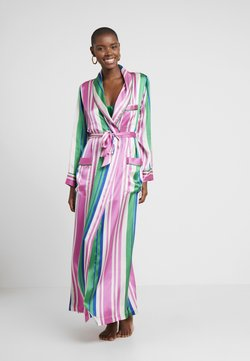 Hesper Fox - AINSLEY CLASSIC LONG ROBE - Dressing gown - pink/blue/white