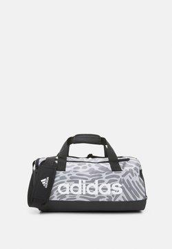 adidas Performance - DUFFEL - Sporttasche - black/white