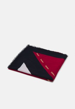 Tommy Hilfiger - CORPORATE STRIPE SQUARE - Foulard - red