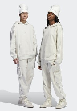 adidas Originals - IVY PARK CARGO SWEAT PANTS (ALL GENDER) - Jogginghose - cream melange