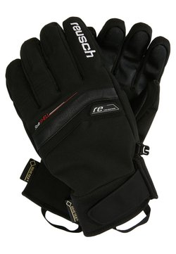 Reusch - BRUCE - Fingervantar - black/white