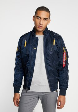 Alpha Industries - Giubbotto Bomber - repl. blue
